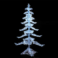 Led Christmas Tree Light Led Decoration 3d Motif Tree Light Christmas Street Tower Light