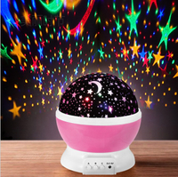 Factory Directly Sale Master Bedroom Decorate Kids Baby Sky Star Baby Led Projector Light Night Projector Light