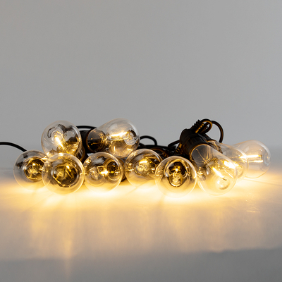 Connectable Rubberplastic Line Filament Bulb Light Chain