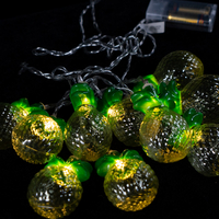 8LEDs Lights chain with pineapple/strawberry decoration.