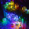Custom Warm White Decorative Light Indoor Outdoor Party Led Hanging Ball String Light