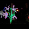 Christmas Outdoor 3D LED Motif Light Decorative Artificial Rose/Tulip Flower with Light