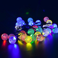Fully Waterproof Multicolor Waterfall Battery Operated Decorative Light Wholesale Led Light
