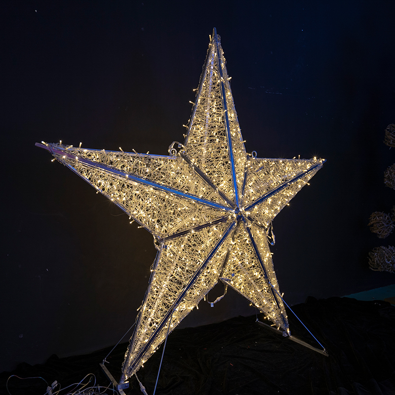 Christmas Star Light Decoration