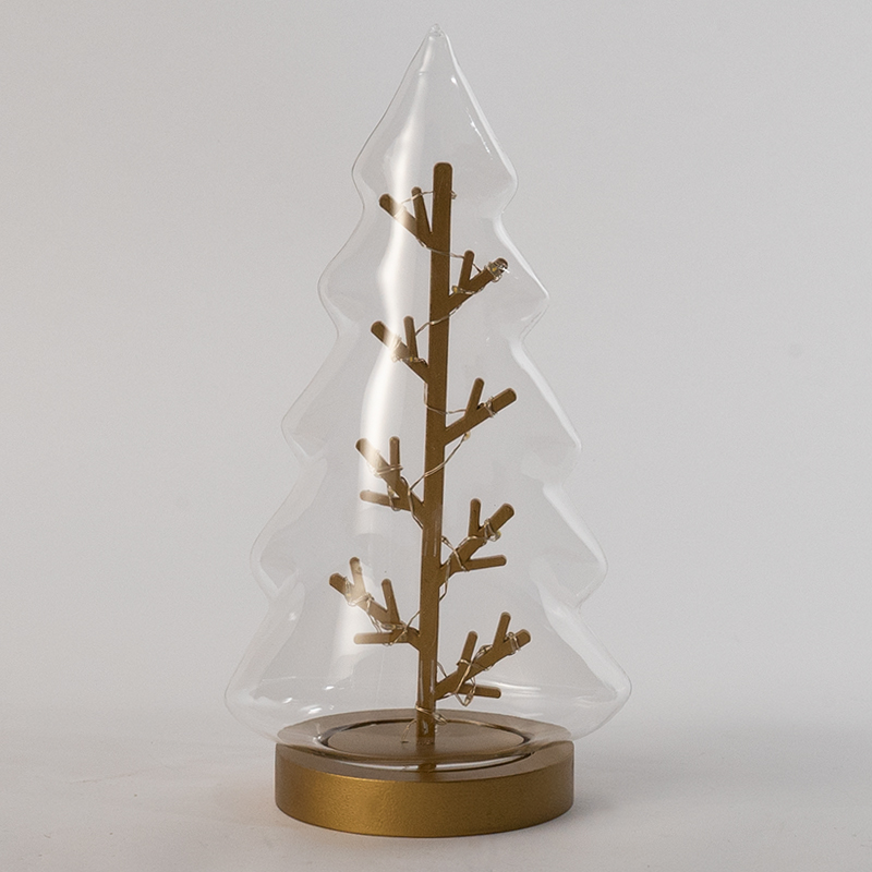 Transparent Christmas Tree Table Light