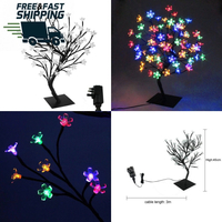 Outdoor Christmas LED Cherry Blossom Tree Light