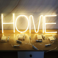 Durable Energy-Saving Economic Light Up Letters Marquee Letters Alphabet Letter Multicolor Led Neon Sign Lights Night Lamp
