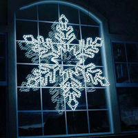 Snowflake Decorative Mini Led Lights LED 2D Motif light for Festival