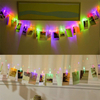 Battery Operated Photo Clip LED String Light