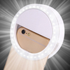 universal portable led ring selfie light phone case usb logo wholesale tiktok ring selfie light