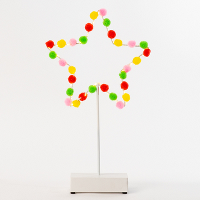 Star Table Light with Color Ball
