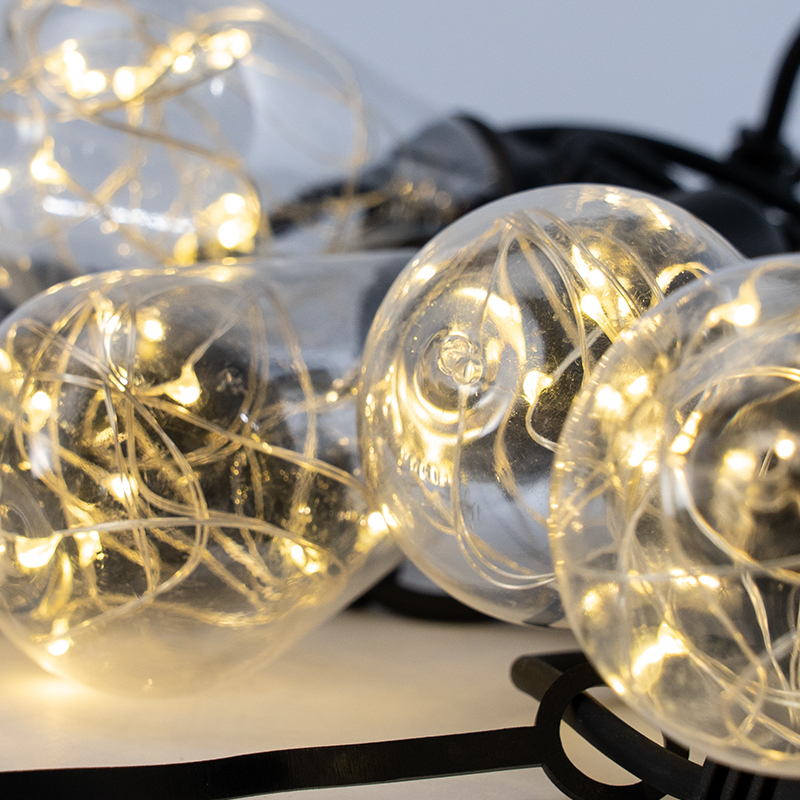 Top ball Decoration lights indoor and outdoor use Connectable