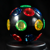 EVERMORE Multicolor Rotatable Disco Ball With Headphone Hole LED Light