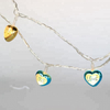 Heart Shape Love Decoration LED Light Chain for Wedding Decoration
