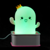 Factory Sales Inexpensive Cute Kids Baby Led Cactus Shape Night Light